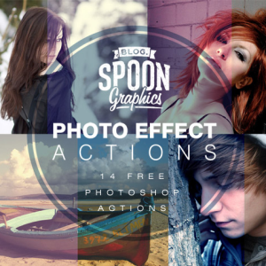 14 Free Photo Effect Photoshop Actions