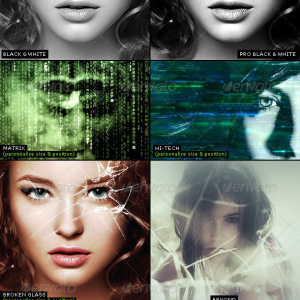 180 Premium Proffessional Photo Effects Action Bundle