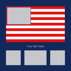 American Flag Generator with Images