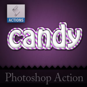 Candy Photoshop Action Free Download