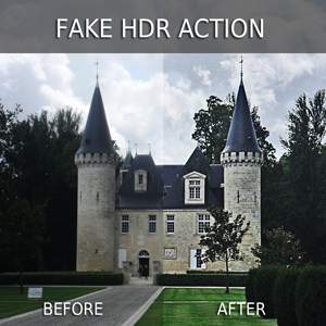 Fake HDR Photoshop Action