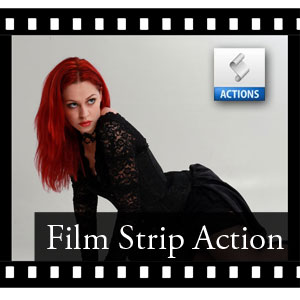 Film Strip Photoshop Action