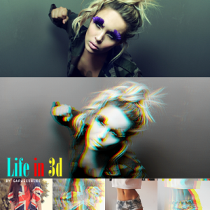 Free 3D Anaglyph Photoshop Action