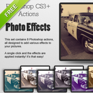 Free Photo Effects Photoshop Action