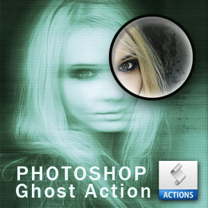 Ghost Photo Action for Photoshop