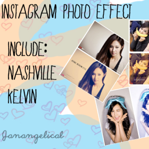 Instagram Photoshop Effect Action