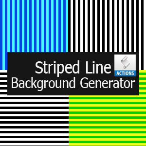 Striped Line Background Generator