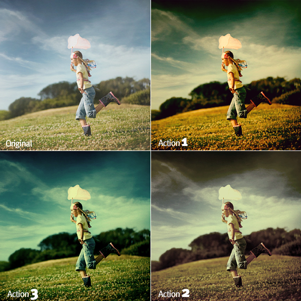 Magic Color Photo Effect Photoshop Action