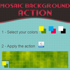 Mosaic Background Action