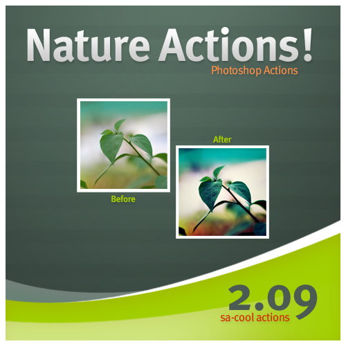 Nature Photo Effect Photoshop Action