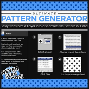 Pattern Generator Photoshop Action