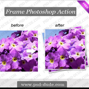 Photoshop Frame Action