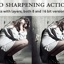 Proffessional Photo Sharpening Actions