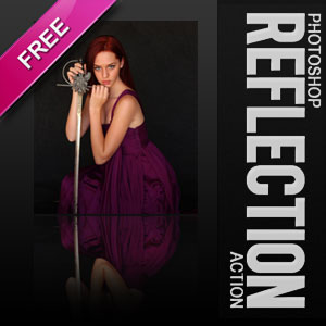 Free Photoshop Reflection Action
