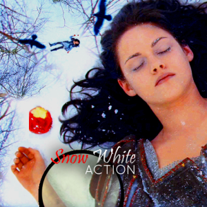 Snow White Photo Effect Photoshop Action