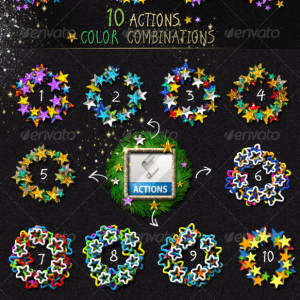 Stamp Generator With Free Photoshop Action (Frames-And