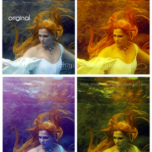 Underwater Photo Action for Photoshop